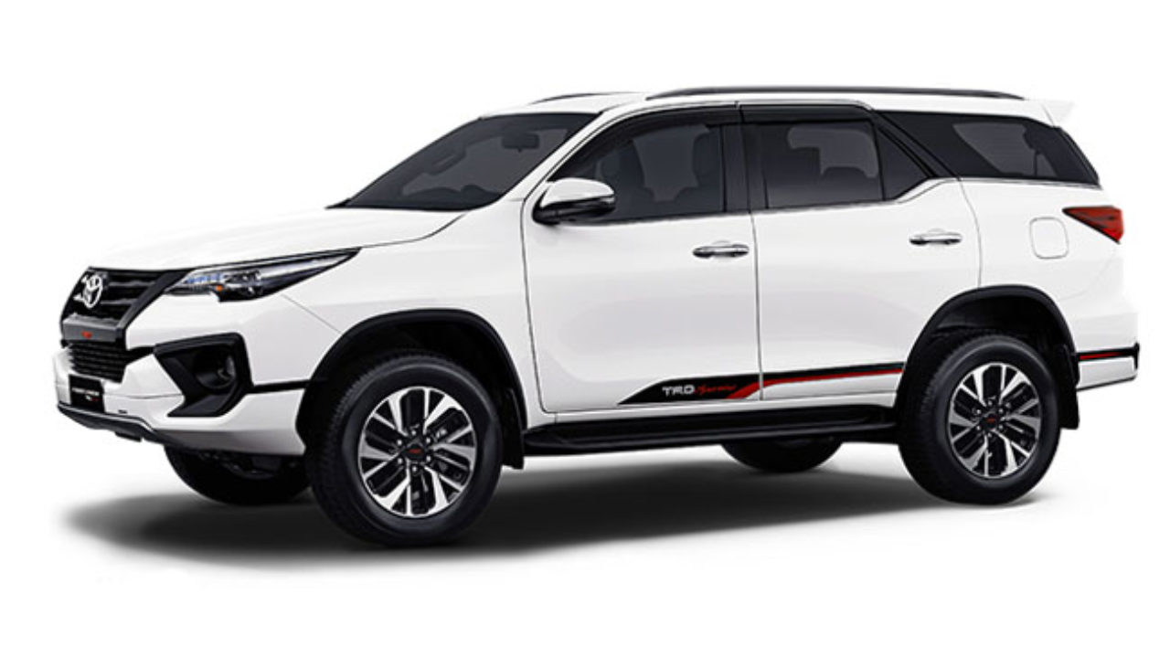 Toyota Fortuner Trd Sportivo Launched At Rs 31 01 Lakhs Mix India