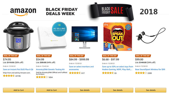 Amazon India has announced a Black Friday and Cyber Monday sale in the country and has previewed a plethora of deals and discounts on products from international brands. While Indian shoppers are.