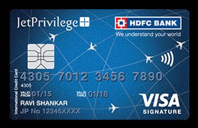 Jet Airways American Express Platinum Credit Card Review India