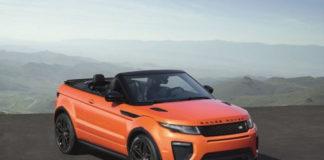 Land Rover Range Rover Evoque Convertible India Price Archives