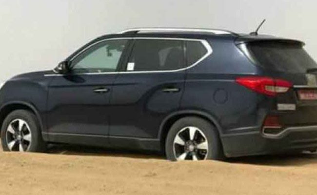 Mahindra Rexton Tests Spied To Be The Most Premium Car Of The