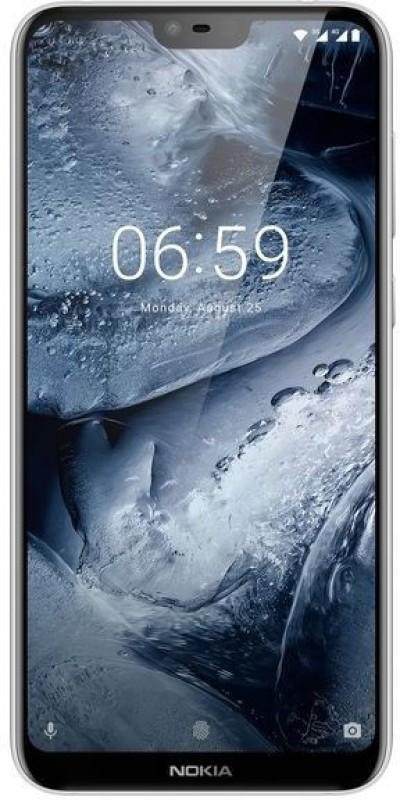 Nokia 6.1 Plus (White, 64 GB)(4 GB RAM)