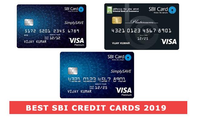 Best SBI Credit Card in India 2019
