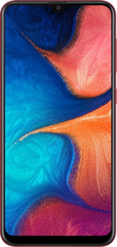 Samsung Galaxy A20 (Red, 32 GB)(3 GB RAM)