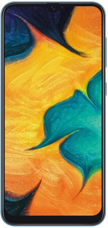 Samsung Galaxy A30 (Blue, 64 GB)(4 GB RAM)