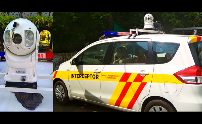 New Interceptor Vehicles For Kerala Motor Vehicle Department Mix
