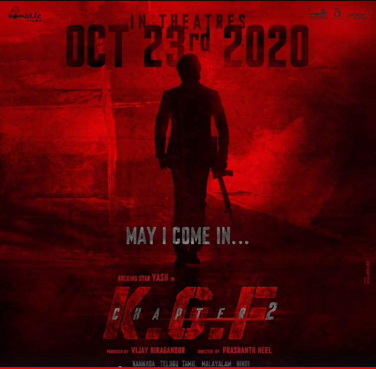 Its Confirmed KGF 2 Release Date Is On October 23