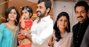 Another member of Tara's family, Karthi became a father again