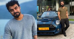 Fahad was followed by Tovino Thomas, who owns the rocket on the road