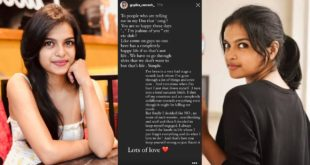 I'm happy for you, but you know nothing about the circumstances I went through - Gopika Ramesh