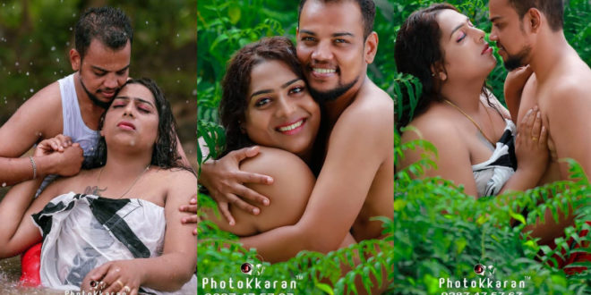 Kerala's first transgender couple through romantic moments .. Acquired social media