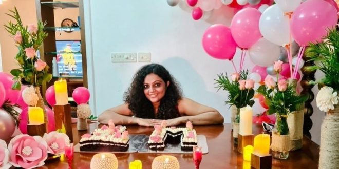 This is the reason why Ashwathy has prepared a huge surprise party at home