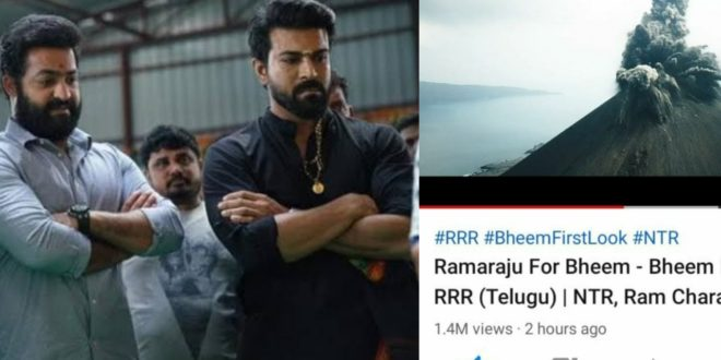 Were the scenes in Rajamouli's film removed from the National Geographic Channel?  This is the truth