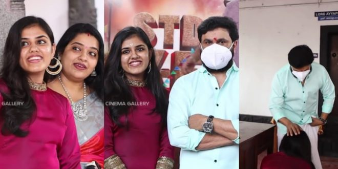 Blessed by the popular hero, actor Shaju's daughter enters the movie