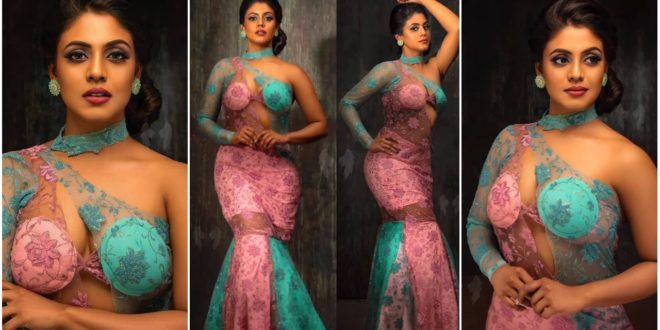 Iniya dressed up as a mermaid and the fans were amazed to see the pictures