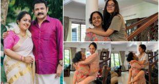 Sindhu Krishnakumar with her four children on Mother's Day