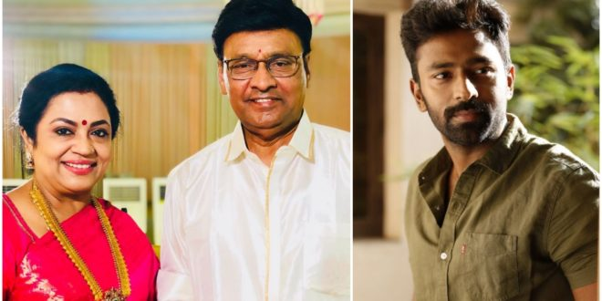 Tamil actor and director Bhagyaraj and his wife are the victims of Kovid