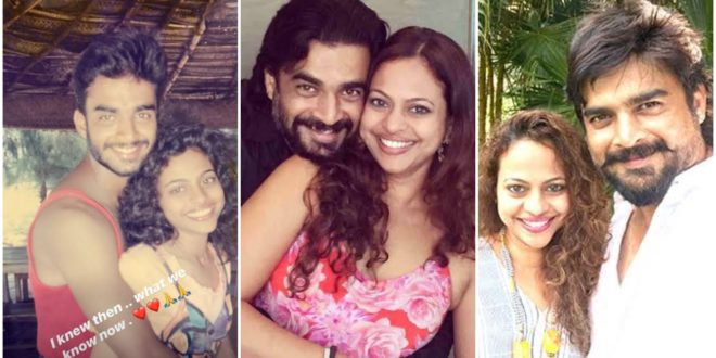 After 22 years of marriage, Madhavan and his wife Saritha celebrate a new milestone in their lives.