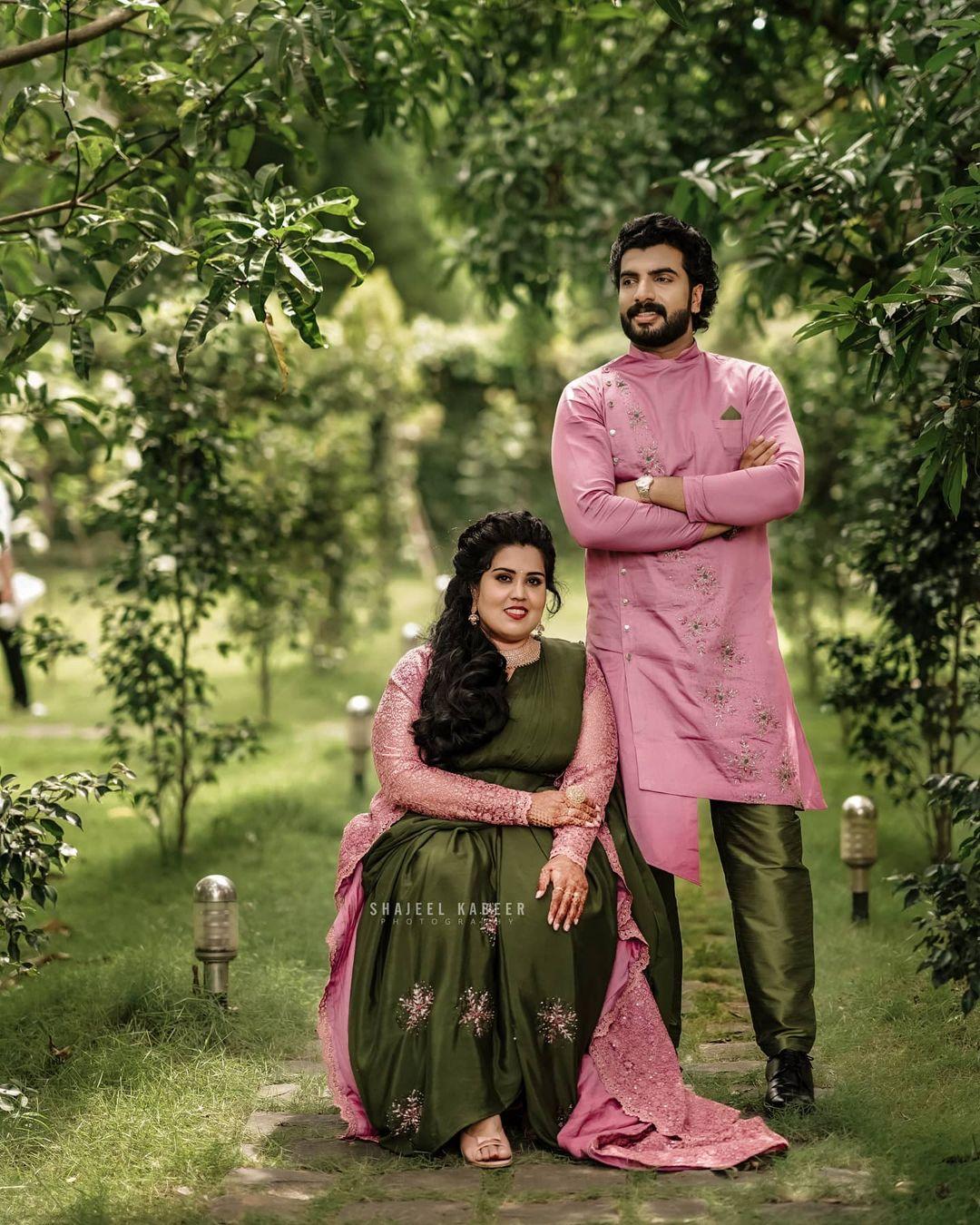 Bigg Boss fame actor Anoop Krishnan engaged to Aishwarya Nair - Mix India