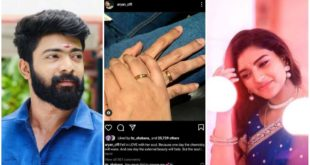 Is Aryan and Shabana engaged?  Outside the pictures of the two standing side by side in the ring, did you hear the two talking about marriage?