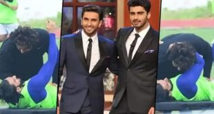 Ranveer Singh and Arjun Kapoor hugging Umm in public, the shooting of the film is nothing, do you know what?