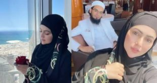 This is Halal Honeymoon, actress Sana Khan celebrating her honeymoon in Maldives, do you know how much rent they pay per night?  You will be shocked to hear that