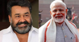 May Sarveshwar bless you on this journey - Mohanlal wishes PM a happy birthday, Malayalees take over