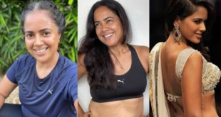 Why not dye your hair?  Sameera Reddy was asked this question by her own father, the actress replied via Instagram, this is the answer